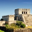 Stock Photo: Mayruins of Tulum Mexico