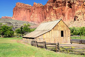 Gifford House, capitol reef — Stock Photo
