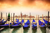 Gondolas in Venezia — Stock Photo