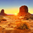 The Monument Valley Tribal Park — Stock Photo #14437757