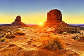 The Monument Valley Tribal Park — Stock Photo