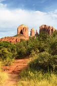 Cathedral Rock in Sedona, — Stock Photo