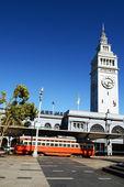 サンフランシスコのトロリー車 — ストック写真
