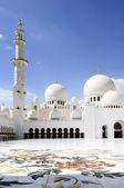 Sheikh Zayed Mosque in Abu Dhabi, — Stock Photo