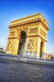 Arc de Triomphe in Paris, — Stockfoto