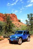 Broken Arrow trail in Sedona — Stock Photo