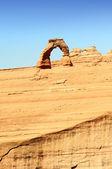 знаменитый нежный arch — Стоковое фото