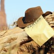 Stock Photo: Wanted far west