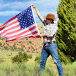 Cow boy spirit — Stock Photo #18291473