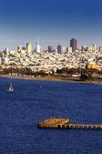 San Francisco Skyline — Stockfoto