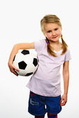 Soccer spirit — Stock Photo