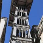 Lisbon elevator — Stock Photo
