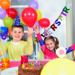 Big funny birthday party — 图库照片 #22087541