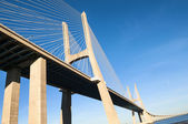 Vasco da Gama bridge, Lisbon, Portugal — Stock Photo