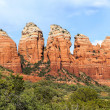 Chimney rock near Sedona - Stock Photo