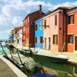 Burano village near Venise - Stock Photo