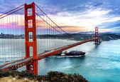 Golden gate bridge, san francisco — Stockfoto