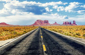 On the road again — Stock Photo