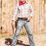 Cow boy spirit — Stock Photo #26145187