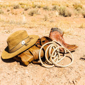 Far west style — Stock Photo