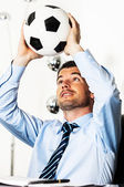 Soccer passion — Stock Photo