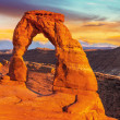 Delicate Arch, Arches National Park, Utah — Stock Photo