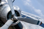 Airforce plaine — Stock Photo