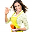 Cooking vegetables — Stock Photo #27488099
