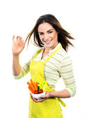 Cooking vegetables — Stock Photo