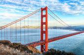 San francisco, el puente golden gate — Foto de Stock