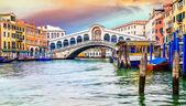 Ponte de rialto, veneza — Fotografia Stock