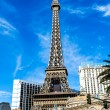 Stock Photo: Eiffel tower on Strip, Las Vegas