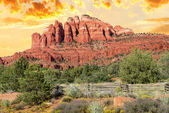 Chimney rock near Sedona — Stock Photo
