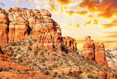 Chimney rock in Red Rock — Stock Photo