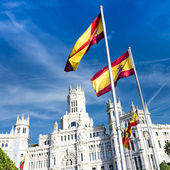 Palazzo de cibeles, Madrid — Stock Photo