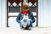 Cow Boy Spirit — Foto Stock