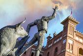 Plaza de toros de las ventas in madrid — Stockfoto