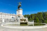 Plazza de oriente madrid — Stock fotografie