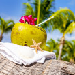 Coconuts on the beach — Stock Photo #32707129