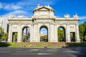 The Puerta de Alcala, Madrid — Stock Photo