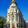 Metropolis building, Madrid — 图库照片