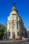 Metropolis building, Madrid — Stock Photo