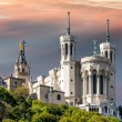 Basilicof notre dame de fourviere — Stock Photo #35403065