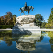 El retiro park in Madrid — Stock Photo