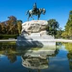 El retiro park in Madrid — Stock Photo #35582165