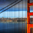 Golden gate brug, san francisco — Stockfoto #36558677