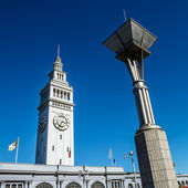 San francisco ferry building — Stockfoto