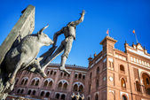 Plaza de Toros de Las Ventas in Madrid — Stock Photo