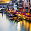 Grand Canal at night, Venice — Stock Photo #38678785