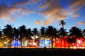 Miami beach, Floride USA — Stock Photo